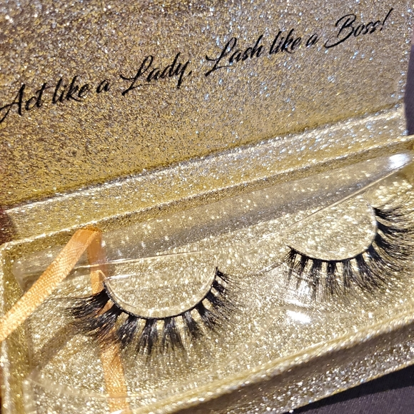 100% Handmade Mink Reusable Lashes #49